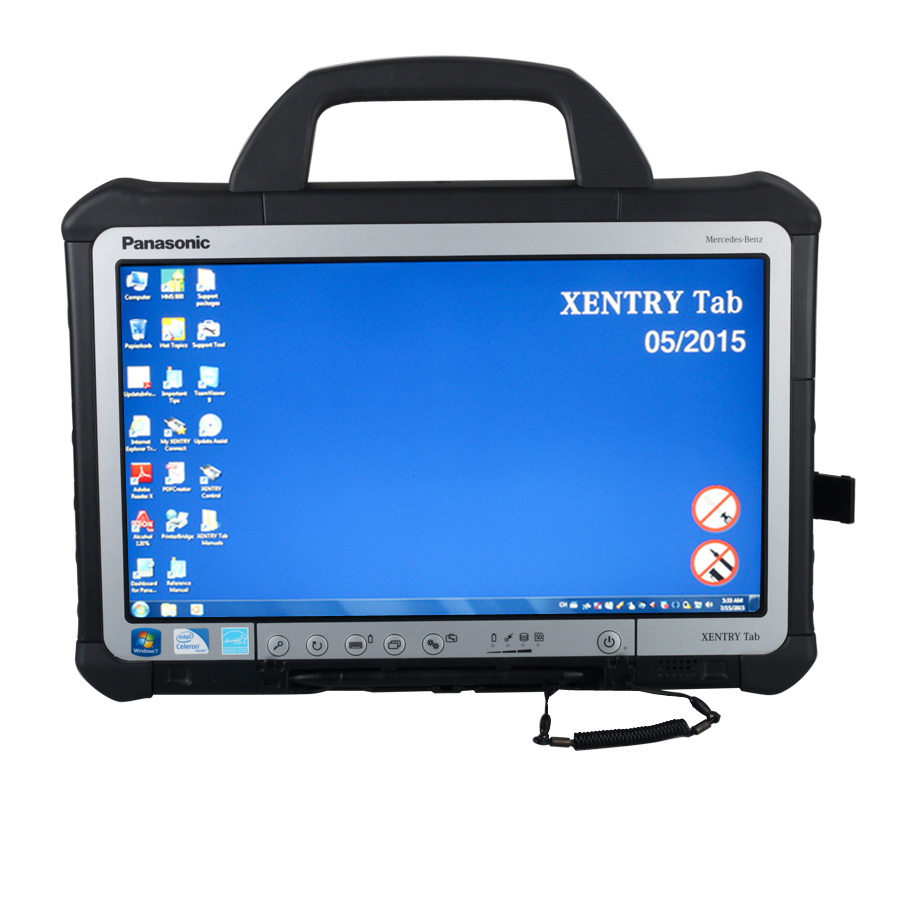 Mercedes BENZ C5 SD Connect Xentry Tab Kit Technical Support - mb star