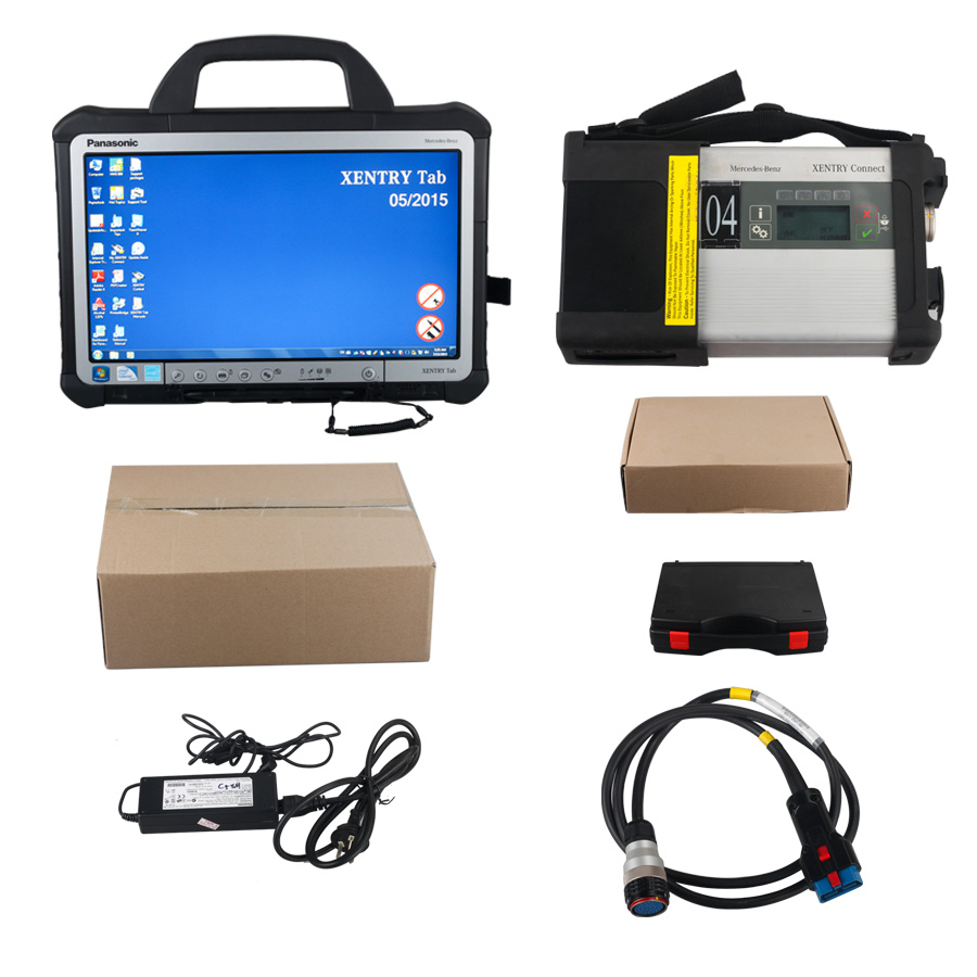 Mercedes benz c5 sd connect xentry tab kit technical for Mercedes benz com connect